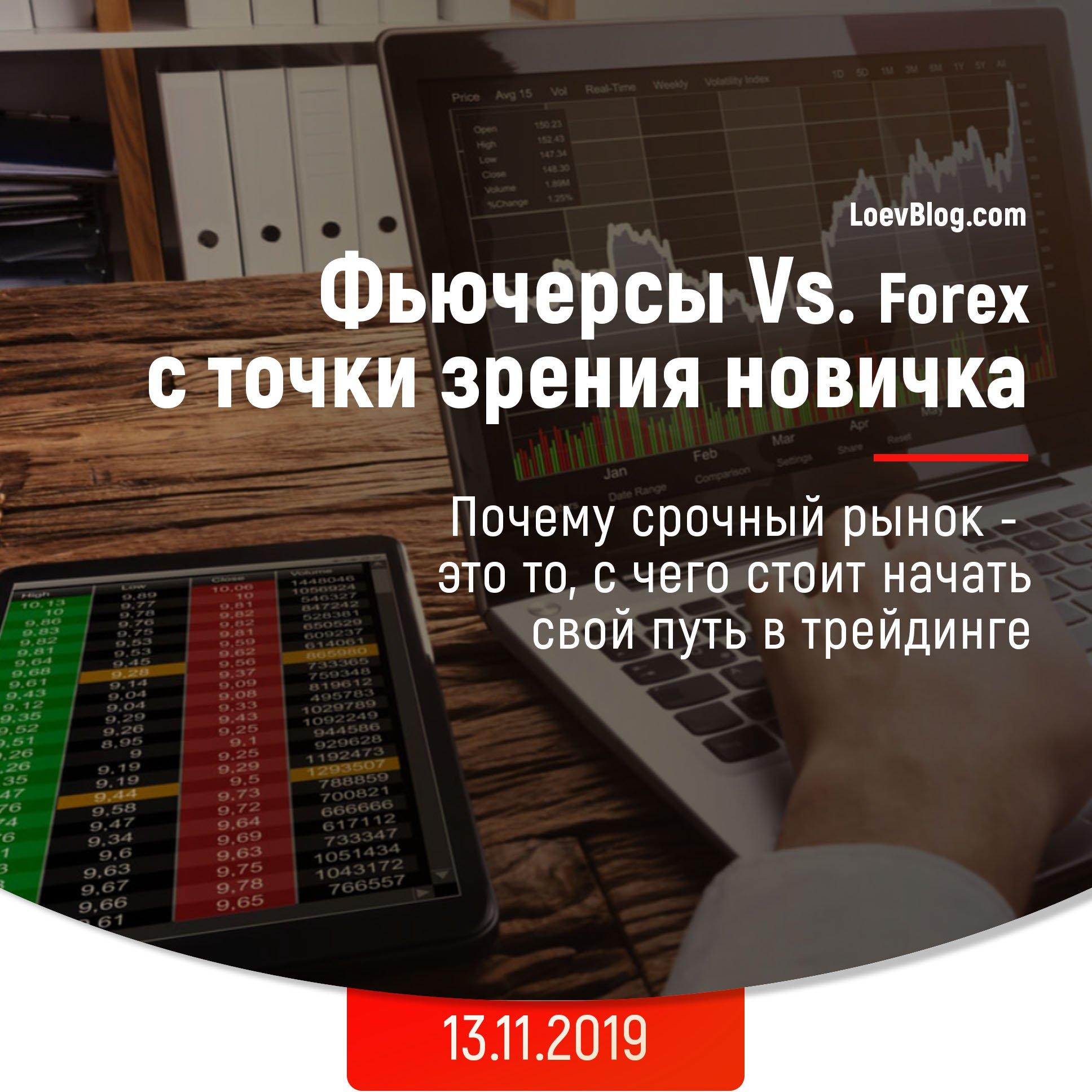 Фьючерсы vs. Forex 5