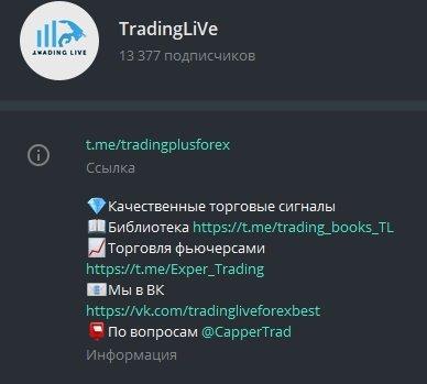 Отзывы TradingLive